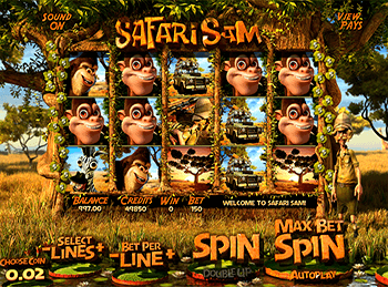 Азартная игра Safari Sam